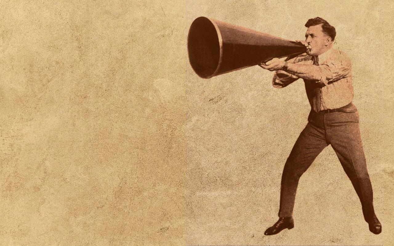 megaphone old